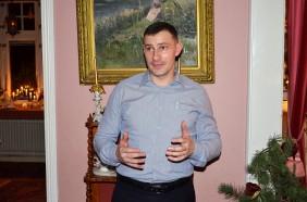 En fantastisk julberättelse om julfirandet i Ryssland av Dmitry Tkachenko, rysslands militärattaché.