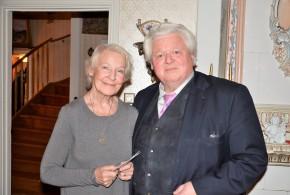 Härliga vänner, dramatenskådespelerskan Margaretha Byström och operasångaren Sonny Wallentin.