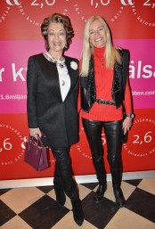 Yvonne Ekdahl med vänninna
