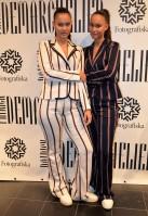 Systrarna Elizabeth och Victoria Lejonhjärta