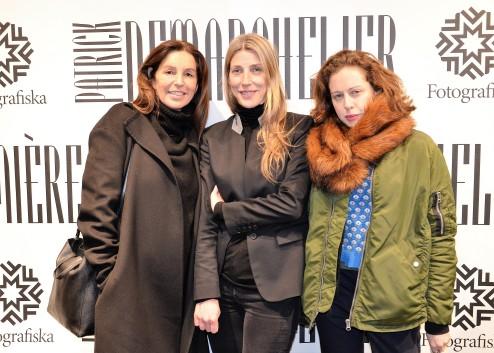 Sussie Lidbeck, Britta Lund, Naomi Itkes