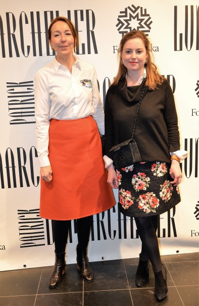 Annika Berner och Beata af Donner
