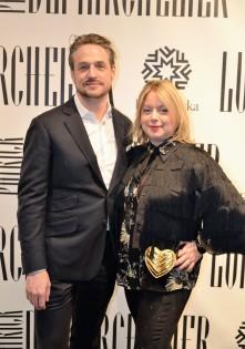 """Kvällens arrangörer Johan Englundh och Maria """"Pyret"""" Millqvist"""