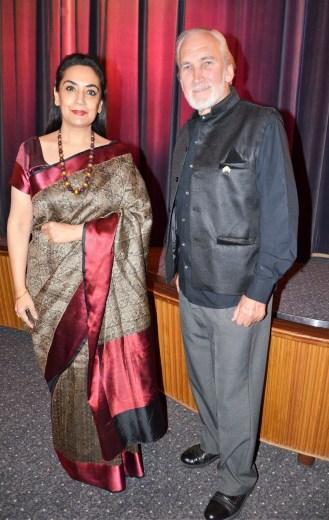 Ambassador Ms Monika Kapil Mohta & Christer Holmgren