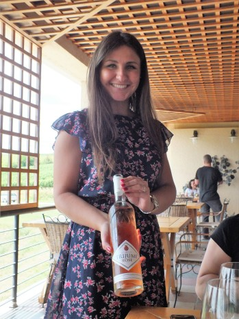 Tamara Colic at the Winery Aleksandrovic