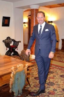 Hotel Kulm Director Heinz E. Hunkeler