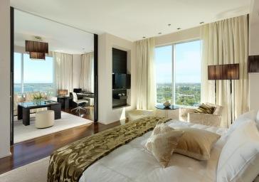 Swissotel Tallinn Suite bedroom