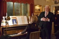 3:e Advent på Villa Solborg. Här sjunger operasångaren Sonny Wallentin Adolphe Adam´s Noël /O helga natt/ accompanjerad av Eva Sääf Wallentin.