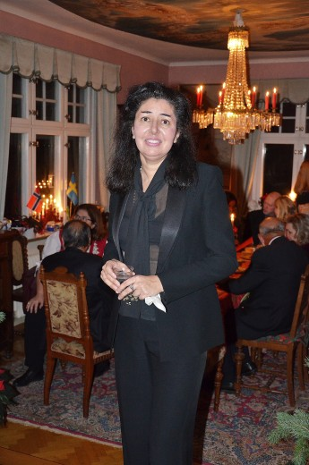 3:e Advent på Villa Solborg. Pianisten Annouchka Mukherjee.