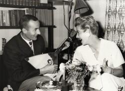 Gundi Busch & Gösta Lill-Lulle Johansson at home