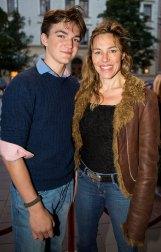 Anna Parrow med son