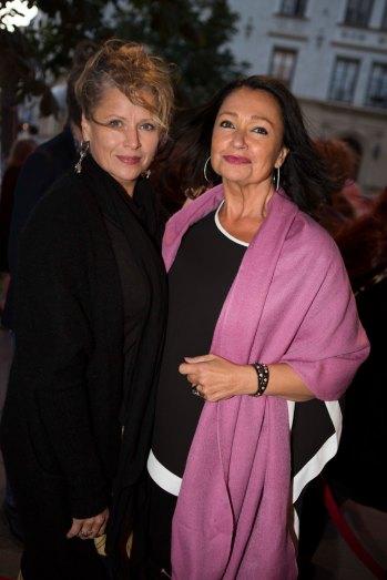 Maria Möller med sällskap