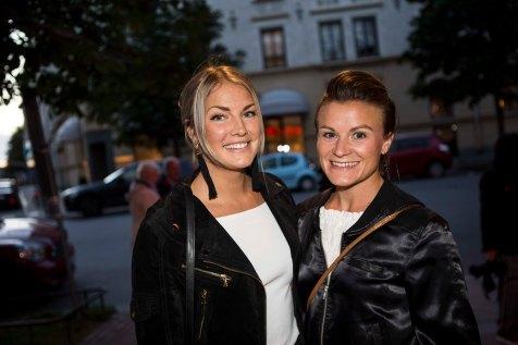 Elina Thorsell med sällskap
