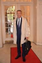 Jan Risberg, flög upp från Geneve för att prova goda viner.