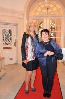 Eva Mannhard, mycket nöjd kund sedan många år med kompis