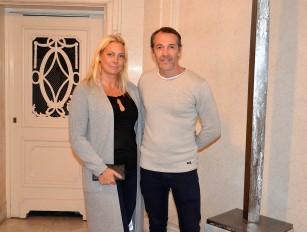 Vinoteket VD, Thomas Furuskog med fru Belinda