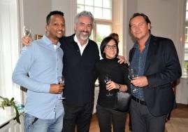 Björn Germer, Jean-Paul Wall med Sambo Irene Perini samt, Dawit.