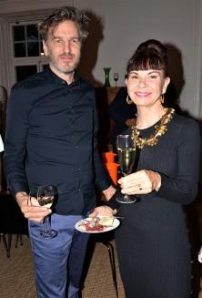Thomas Ekström, Konsthandlare med sin fru Maria Ekström