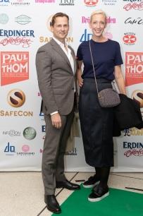 Sofia Arkelsten och Niclas Lövkvist. Foto: Jackeline Perez
