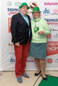 Suzanne Axell med kärleken Jörgen Wedebrand. Foto: Jackeline Perez