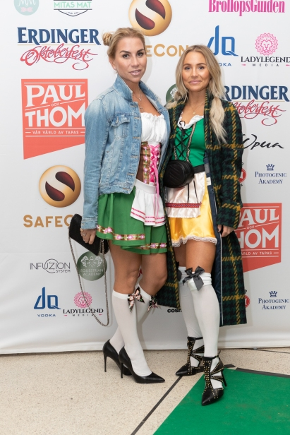 Bloggaren Annica Englund med Beatrice Gull. Foto: Jackeline Perez