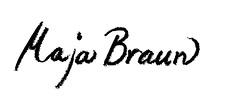 Maja Braun Logga