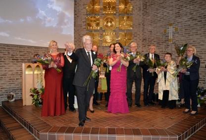 Värden Gösta Malmengård tackar alla som har kommit hit i dag för att med Er närvaro hedra konsertpianisten Karl-Otto Hagen-Olsen´s minne.