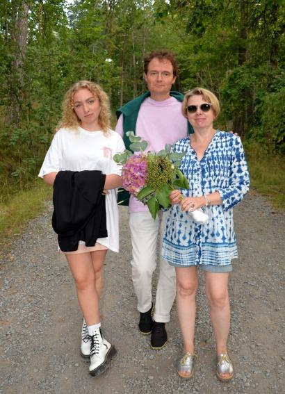 Peter Pyk & Karolina Pyk med dotter Ella