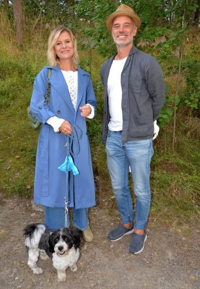 Ulrika Nilsson & Niklas Hjulström med Zorro