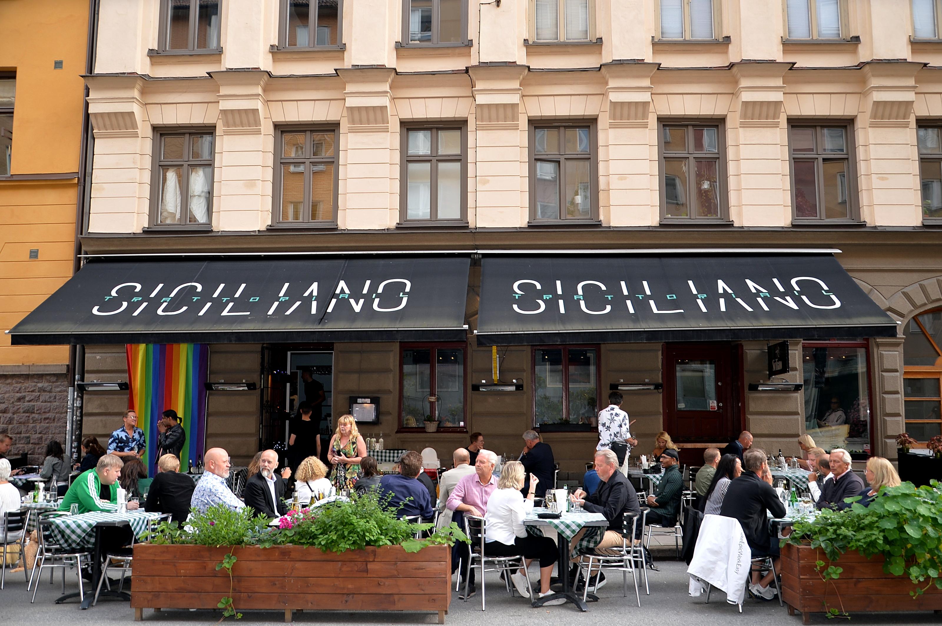 Pridedrink på Siciliano